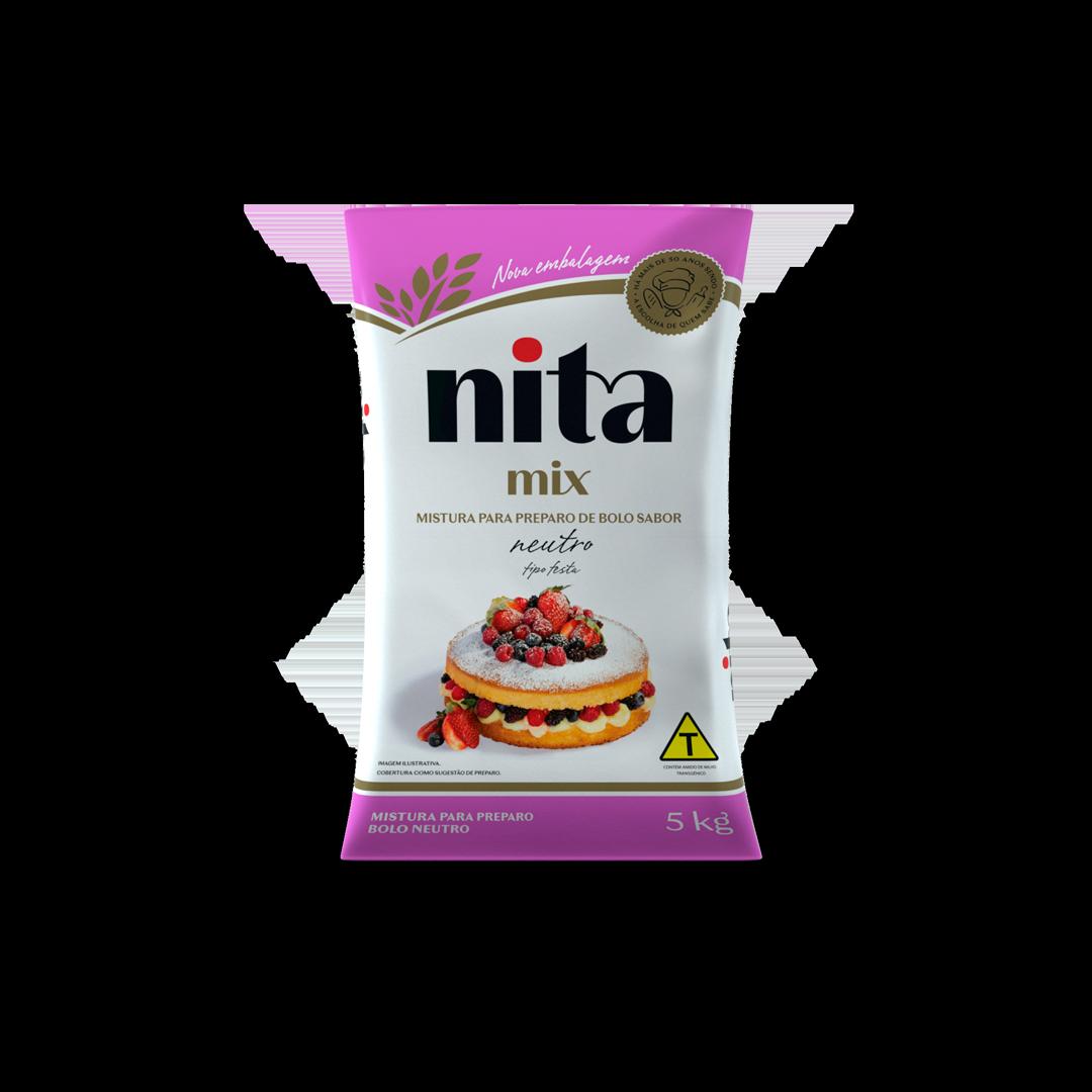 Mistura Pronta de Bolo Neutro 5kg - Nita