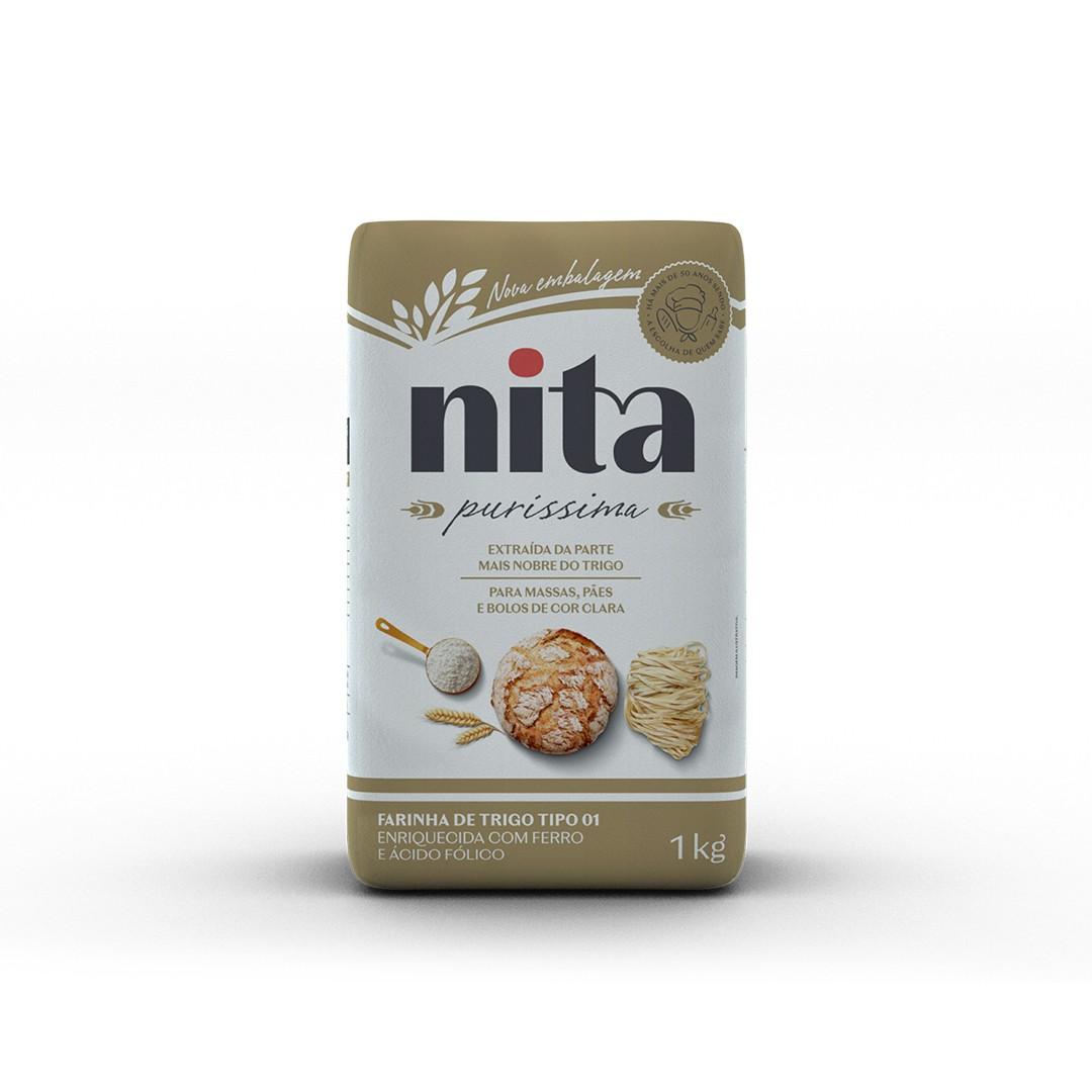 Farinha de Trigo Purissima 1kg - Nita