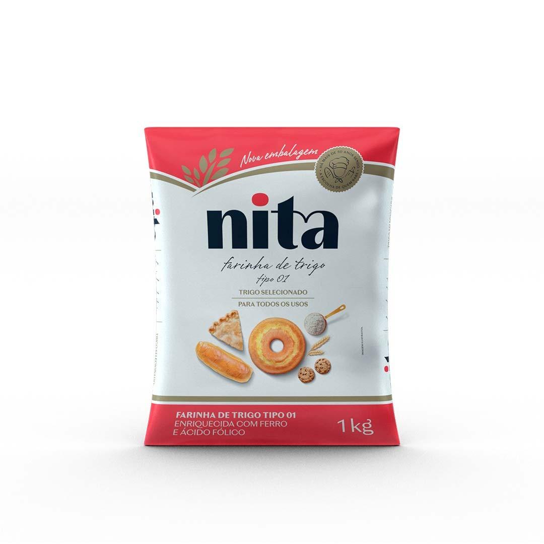 Farinha de Trigo 1kg - Nita