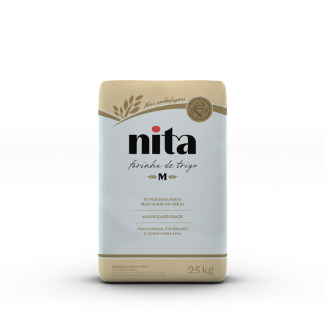 Farinha de Trigo M 25kg - Nita