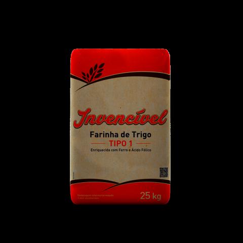 Farinha de Trigo 25kg - Invencível