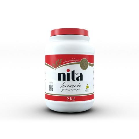 Fermento em Pó Químico 2kg - Nita