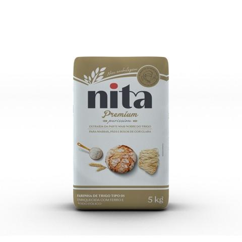 Farinha de Trigo Premium 5kg - Nita