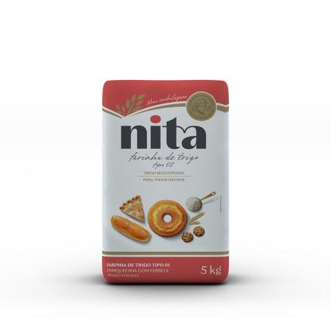 Farinha de Trigo 5kg - Nita