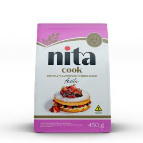 Mistura Pronta de Bolo Festa 450g - Nita