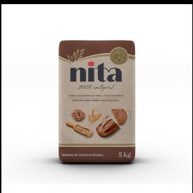 Farinha de Trigo Integral 5kg - Nita