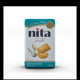 Farinha de Trigo Pastel 5kg - Nita
