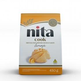 Mistura Pronta de Bolo Laranja 450g - Nita