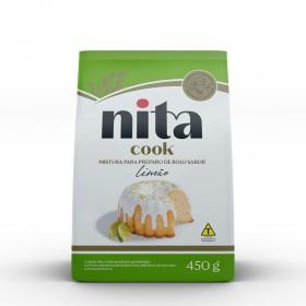 Mistura Pronta de Bolo Limão 450g - Nita