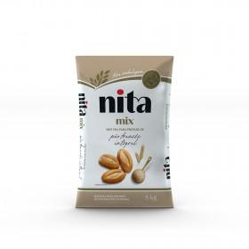 Mistura Pronta de Pão Francês Integral 5kg - Nita