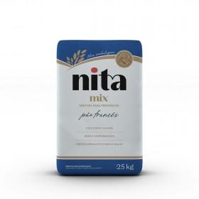 Mix Pão Francês 25kg - Nita