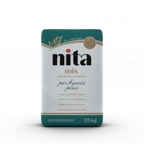 Mix Pão Francês Plus 25kg - Nita